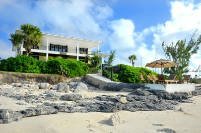 Serenity is located 25 feet from the beach