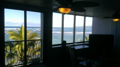 Photo for North Shore Oahu Beachfront Condo, 2BR / 2BA