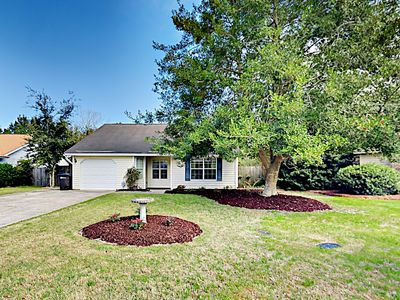 Photo for Family Home w/ Deck, Fireplace & Fenced Yard - Easy Drive to Beach!