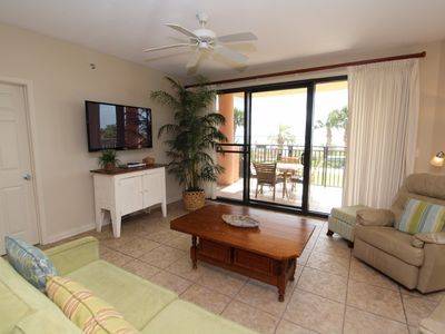 Photo for Seachase 103C- Beach Front Views from Walk-out Terrace and Coastal Interior!