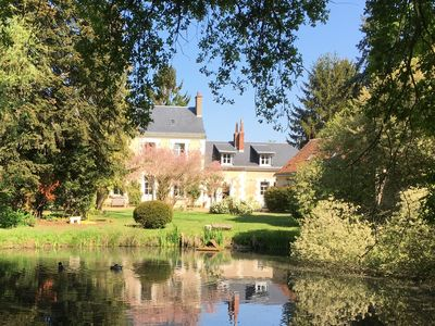 Photo for Charming cottage, near Tours, castles of the Loire
