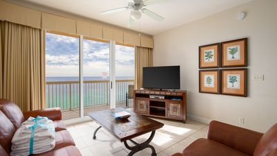 Photo for Sleep with A VIEW in this Gulf Front Master. The Beach is Waiting For You!