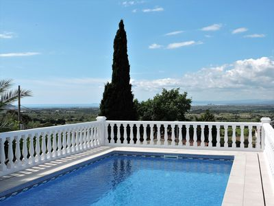 Photo for nice villa with private pool and panoramic sea view in residential area