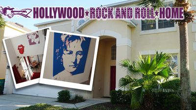 Photo for Hollywood Rock and Roll Home - Emerald Island Resort - FREE Heated Pool/Spa!
