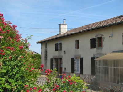 Photo for 2 bedroom character gite en-suite great for walking, cycling and relaxing