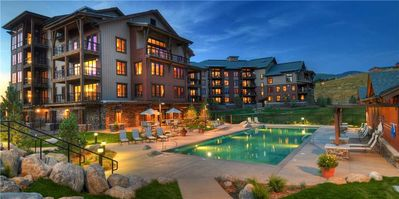 Photo for Walk to Private Wildhorse Gondola  - Pool & Hot Tub Access - Biking Tails Nearby