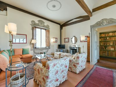 Photo for Miravista - Two-bedroom apartment near Santa Croce cathedral, Florence