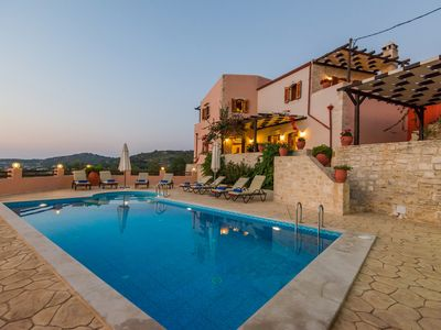 Photo for Villa Dafni! Countryside views, walking distance to shops, close to the beach!