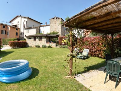Photo for Lovely apartment for 5 people with internet, TV, patio and parking, close to Lucca