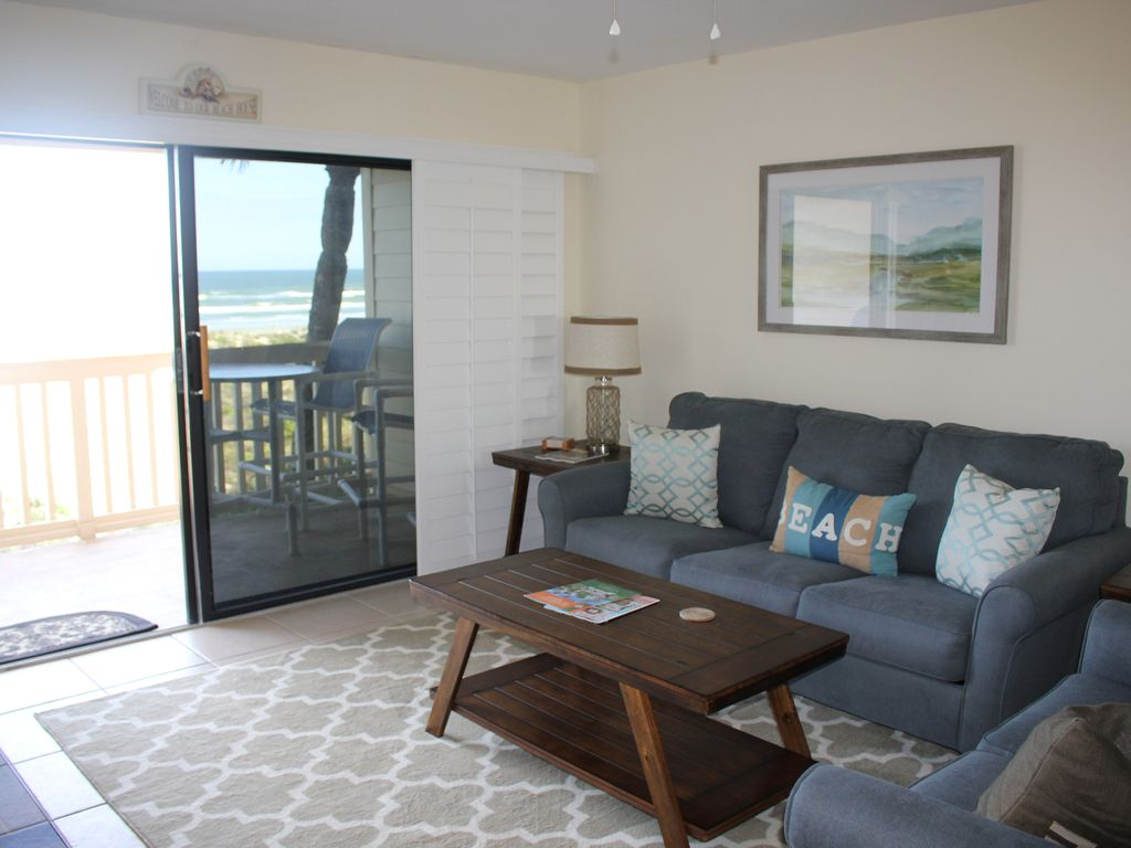 sea haven 519, 2 bedroom, ocean front, pool, wifi, st. augustine