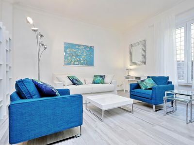 Photo for San Sebastianello A  apartment in Piazza di Spagna North with integrated air conditioning.