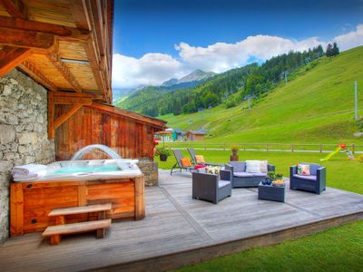 Photo for 5* chalet at foot of ski lift in the heart of Alplne village - OVO Network