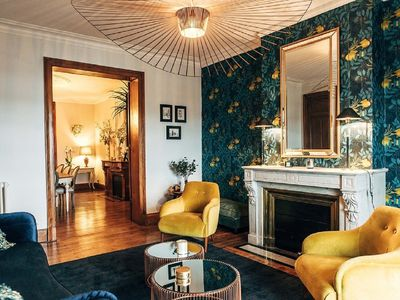 Photo for Superb apartment of 185 sqm overlooking the Garonne and the Stone Bridge