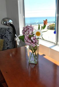 Photo for Monterey Bay views from second floor bedrooms. Right on WestCliff