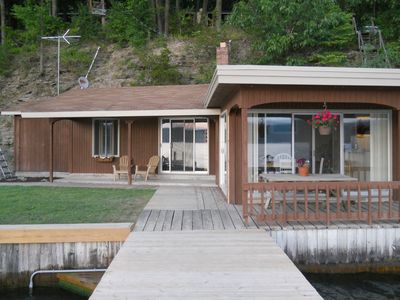 Photo for Beautiful Waterfront Cottage in the Finger Lakes