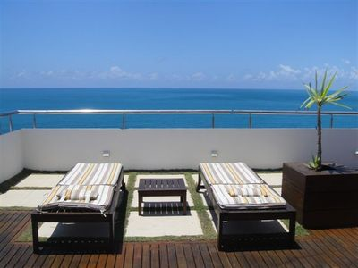 Deck chairs with your own private panoramic seaview!