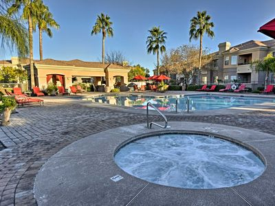 Photo for Ground-floor Poolside Mesa Condo w/Lux Amenities!