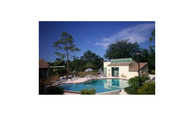 Heated Pool 20 yards from your front door without the traffic or noise!