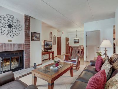 Photo for Enjoy Resort Amenities and Ski in Ski out Access in This Ideally Located Condo