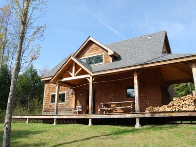 Photo for Mad River Valley Post and Beam 4 BR in Waitsfield Vt