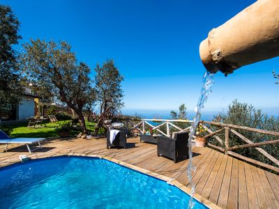Photo for villa Milena with Pool and Sea View