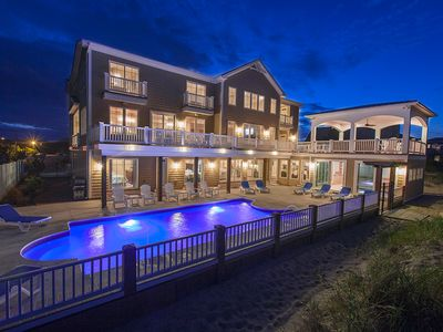 Photo for Luxurious 12 bedroom oceanfront mansion with elevator, private indoor & outdoor pools