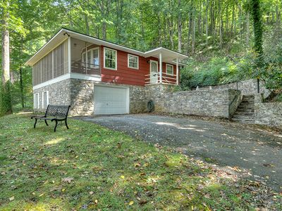 Photo for Country Mountain Getaway 3 Bedroom with Views, Nice Screened Porch, Garage