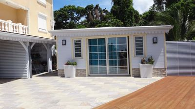 Photo for The COCOTIER: Superb T3 of high standing with swimming pool and sea view!