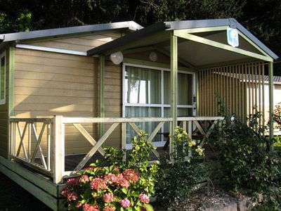 Photo for Camping Barre Y Va **** - Chalet for 5 People
