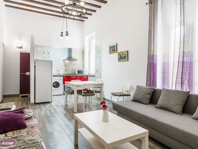 Photo for Beautiful Apartment In Historic Centre Close to Beach; Pets Allowed