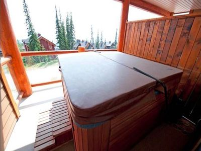 Photo for Ideal Summer & Winter 2 Bedroom Plus Den Condo With Private Hot Tub