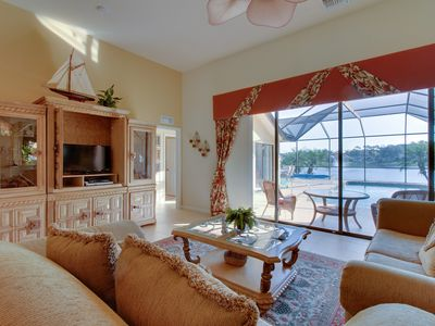 Photo for Gated community, waterfront home with private pool & community amenities!