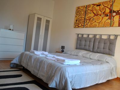 "Photo for AT THE ""GIRASOLE ROOM"" HOSPITALS - double room, private bathroom, private balcony"