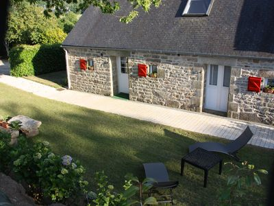 Photo for CHARMING COTTAGE LOCRONAN located in the countryside, near beaches
