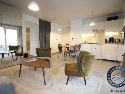 Photo for A52-Beautiful apartment for 4 people with parking, near Cité du Vin