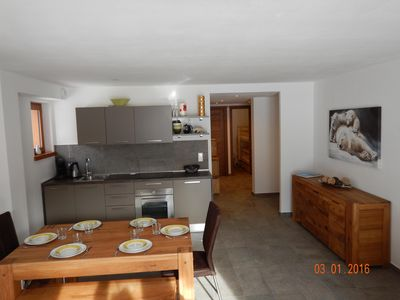 Photo for South facing apartment - new- luxurious- 68 m² - 6/8 sleeps - terrace