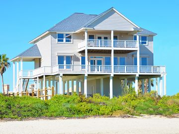 Beach Front 5br 4ba Home 2 Separate Living Areas Pool Table Close To