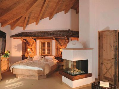 Photo for Residence suite with shower or bath Bathroom, WC - Chalet Hotel am Leitenhof