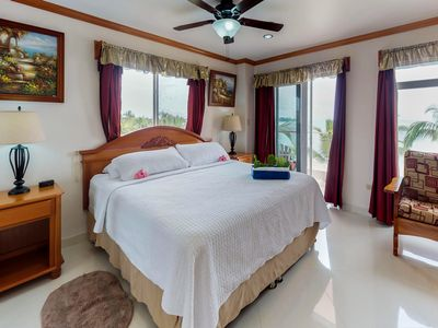 Photo for Bright, colorful ocean-view suite with resort pool, stunning beaches, near town!