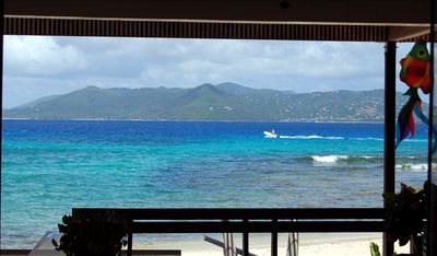 The view is spectacular from the condo ~ Shades of turquoise and sapphire blue