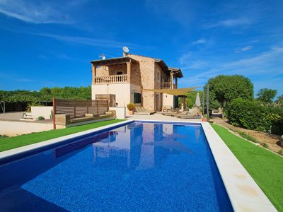 Photo for Finca Son Mainou - Nature - Great views - Country house for 6 people in Porreres