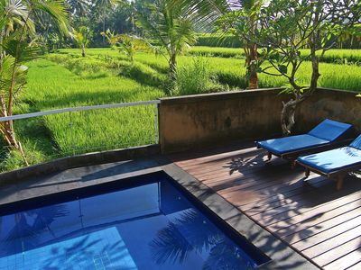 Photo for Private 1 Bedroom Ricefields View Villa Ubud