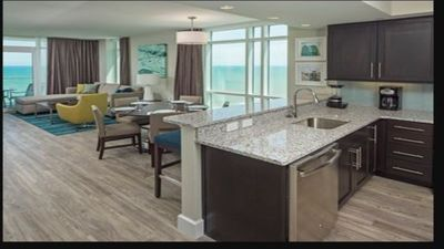 Photo for Beautiful 3 Bdr Ocean Front Condo at Ocean 22 by Hilton Grand Vacation