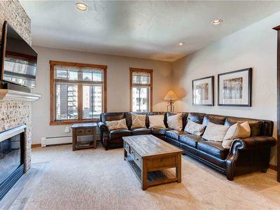 Photo for Classic condo in town and 150 yards to base of Peak 9 - Great for Summer/Winter