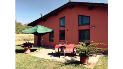 Photo for Villa Puccini, panoramic farmhouse with garden and olive grove