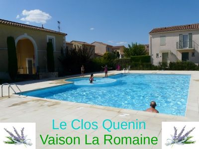 Photo for T3 conditioned villa terrace garden pool in town vacancy 01/05 AU30 / 09
