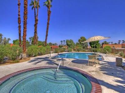 Photo for Large Palm Springs Condo Backing Onto Pond With Fountain
