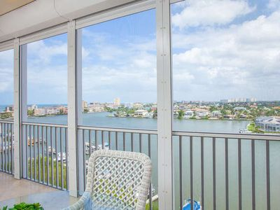 Photo for Beautiful Bay Gulf and Bay Views AND Just Steps to the Beach!