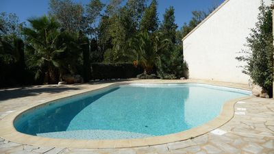 Photo for RENT PRETTY VILLA IN A RESIDENCE OF STANDING WITH SWIMMING POOL