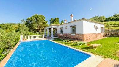 Photo for Holiday home with pool in a Natural Park - ideal for families